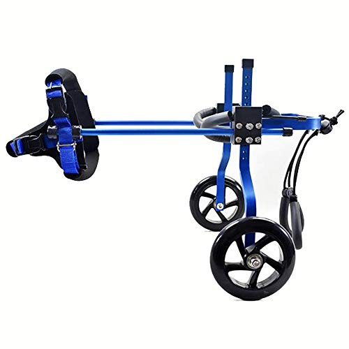Hunderrolstoel, rolstoel, huisdier, rolstoel, verstelbare katten en hond met mindervaliden achterlimmen mand injury kleine dieren scooter huisdier autostoel dog wheelchair