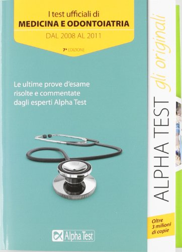 I test ufficiali di medicina e odontoiatria