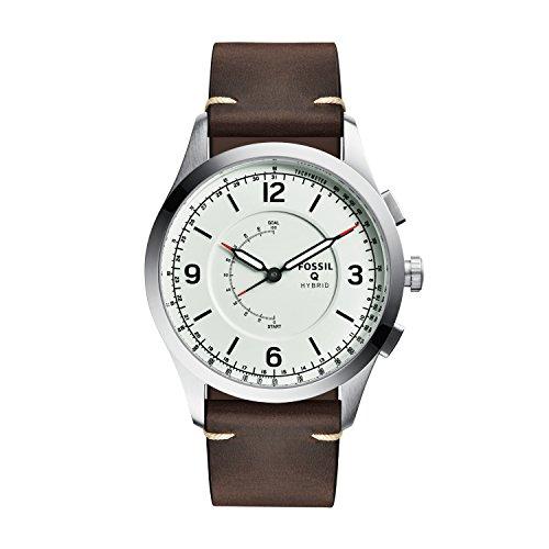 Fossil Hybrid Smartwatch - Q Activist Brown Leather FTW1204