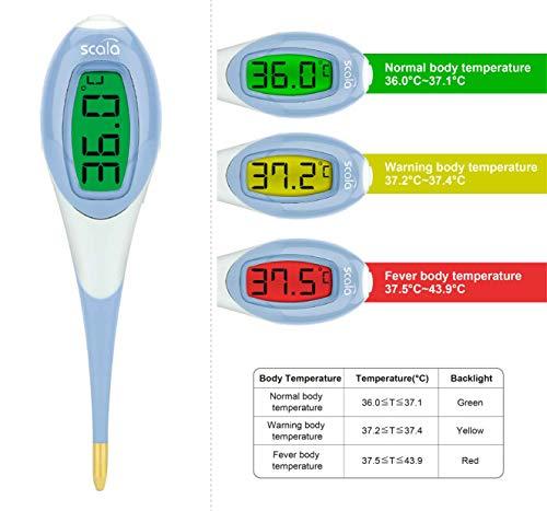 scala Digitales Fieberthermometer SC 2050 Flex Speed Night
