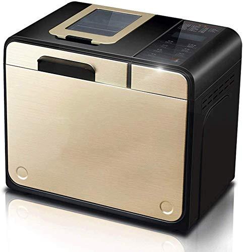 ALYR automáticos Panificadora, Panificadoras para la Cocina Cocineros Profesionales Inteligente panadería Máquina,A