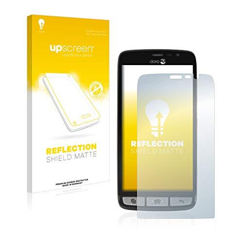upscreen Entspiegelungs-Schutzfolie kompatibel mit Doro Liberto 825 – Anti-Reflex Bildschirmschutz-Folie Matt