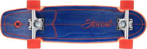Flying Wheels Stewart Hull Longboard Navy