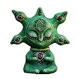 laoonl Figura de criatura increíble, mini estatua de animales extraterrestres, escultura miniatura de jardín de hadas y terrario – jardín, patio, adorno al aire libre