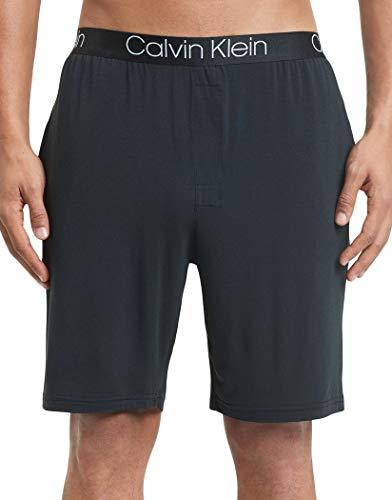 Calvin Klein Men's Ultra Soft Modal Shorts, Black, S