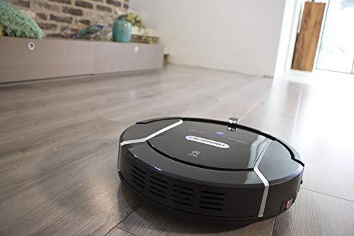 Blaupunkt Bluebot XSMART Saugrobotor mit Wischfunktion und App-Steuerung, 35W, 180 m2 Reichweite, 0,5L Staubbehälter mit HEPA-Filter (Amazon Alexa kompatibel) - 9