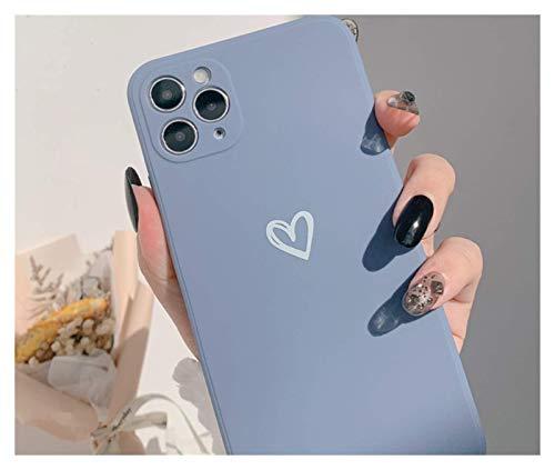 DSMYYXGS Retro Sweet Line Art Funda del Teléfono Japonés For iPhone 12 11 Pro MAX XR XS MAX X 7 8 Plus 12 Mini 7 Plus Caso CUBIERTE Linda (Color : 003, Size : For iPhone 6 6s)