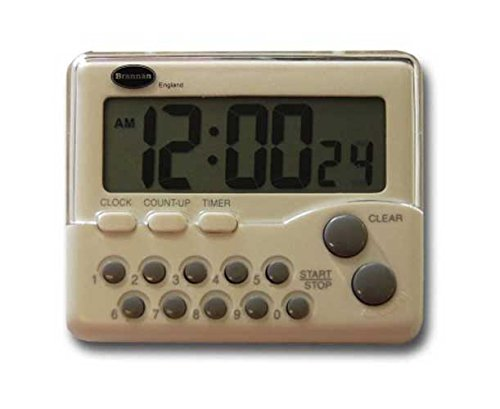 Generieke Lab Supplies 28/204/0 Timer Interval Stopwatch, 0-60 minuten
