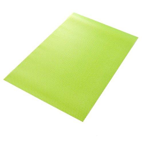Yosoo Kühlschrankmatten, Frischhaltematte Antischimmelmatte Schmutzabweisende Antibakterielle Matte aus Kunststoff für Kühlschrank - 1 Sack (inkl. 4 Stück) (Grün)