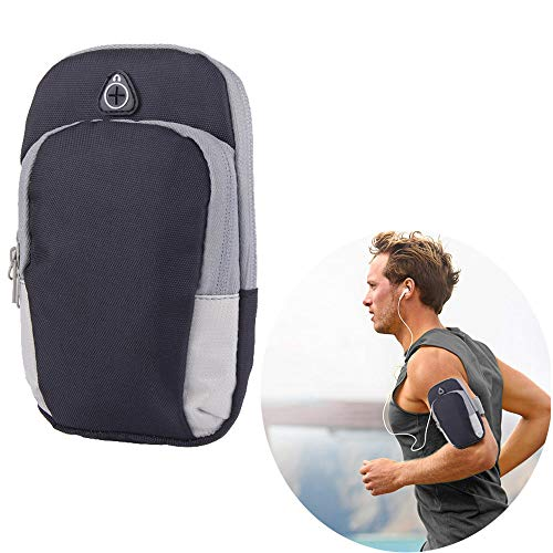 Outdoor Sports Multifunctional Armband Waterproof Best Running Sports Mobile Arm Bag Cell Phone Bag Key Holder for iPhone X 8 7 Plus 6S Plus Samsung Galaxy Note 5 4 S8 S7 Edge Plu Men & Women
