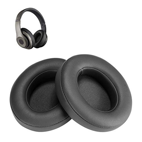 Titanium Replacement Earpads, AGPTEK 2 Pieces Foam Ear Pad Cushion Compatible with Beats Studio 2.0 Wired/Wireless B0500 B0501 Headphone & Beats Studio 3.0