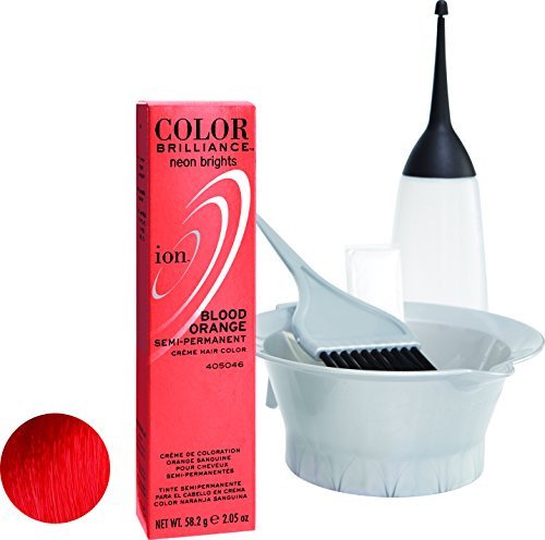 Ion Red Semi Permanent Hair Color Red