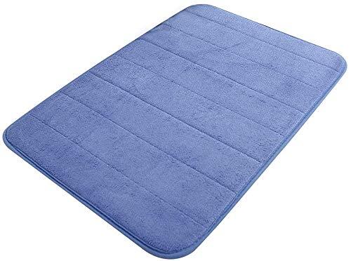 AOI Alfombra de baño Alfombras de baño, Antideslizante Alfombra de baño (40x60 cm, Azul)