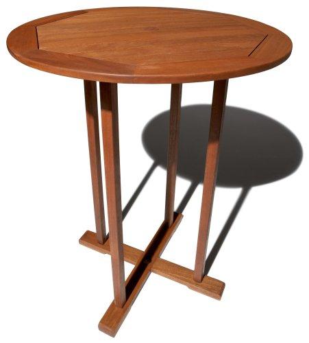 Strathwood Bradford Table de bar pour jardin en bois dense (Résistant aux intempéries)