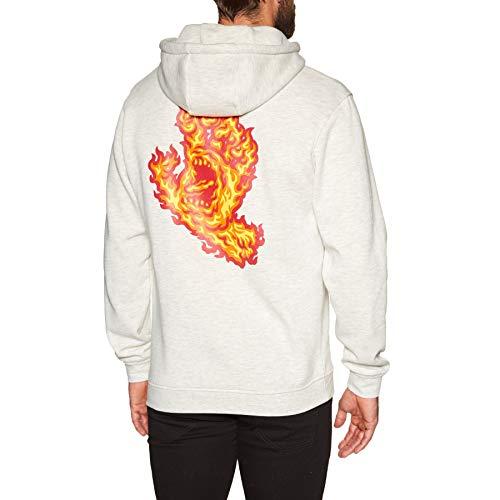 Santa Cruz, Flame hand hood, Athletic heather