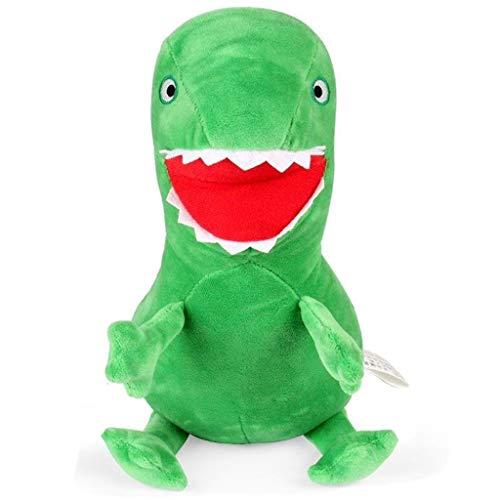 Ogquaton Niedlichen Dinosaurier Puppen Plüsch Kuscheltier Puppen Baby Stofftiere Beste Geburtstagsgeschenk 1 Stück grün