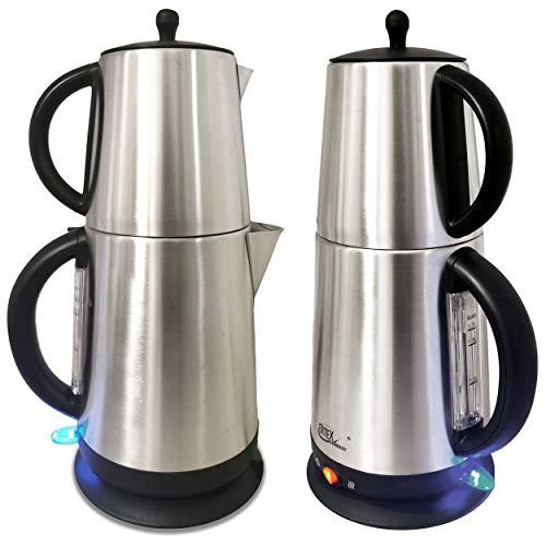 Teekocher Elektrischer Teebereiter Caymatik Wasserkocher 2200 Watt 2,7 Liter