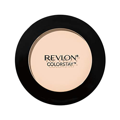 Revlon ColorStay Pressed Powder, Longwearing Oil Free, Fragrance Free, Noncomedogenic, 290 Natural Ochre, 0.30 oz