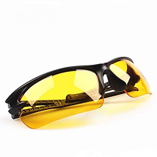 Nihlsfen Gafas de Sol de conducción Estilo de Moda Caballeros Gafas Protectoras geniales Gafas Deportes duraderos Gafas de Sol de visión Nocturna Diurna
