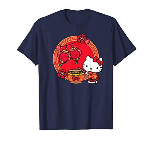 Hello Kitty happy Lunar New Year