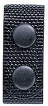 Bianchi, 6406 Ranger Belt Keepers (4 Pack), Black, Snap