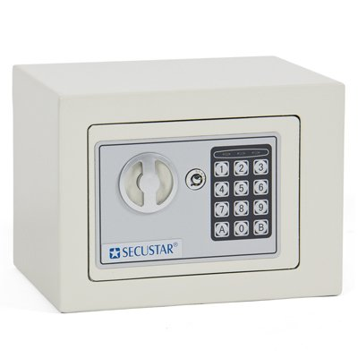 Best Choice Products Small Digital Electronic Safe Box Keypad Lock Security Home Gun Cash Jewelry Hotel
