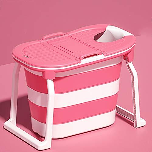 YZZR Bañera Plegable para Adultos,Bañera móvil Plegable Ideal para pequeños baños,Plegable,Bañera portátil Plegable para Colocar de pie(103 * 76.5CM)