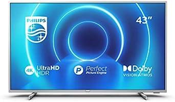"Philips 43PUS7555/12 Telewizor LED Smart 4K UHD, 43"", Srebro"
