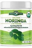 Moringa Powder by Pura Vida Moringa - USDA Organic Moringa Powder, Organic Moringa Oleifera, Moringa Leaf Powder| Perfect for Smoothies, Recipes and Moringa Tea. 8 oz.