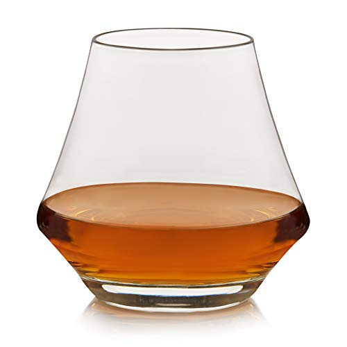 Libbey Craft Spirits Whiskey Glasses, Set of 4