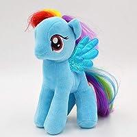 19cmかわいいポニー用馬ぬいぐるみ子供用ユニコーン馬のおもちゃ子供誕生日クリスマスギフト高品質