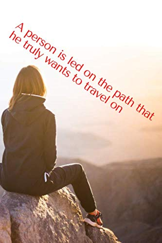 Travel Joy -A person Is led on the path that he truly wants to travel on- Love Lined Notebook for Gratitude Thank you Joy: Lined Notebook to express ... college, office, university Talmud Quote