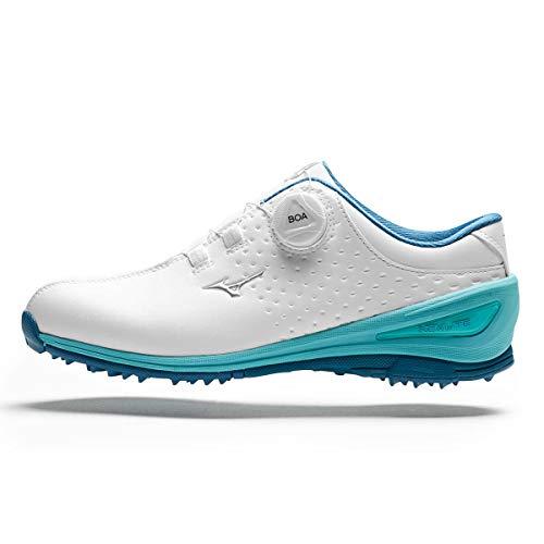 Mizuno Nexlite 006 Boa, Chaussures de Golf Femme, Blanc...