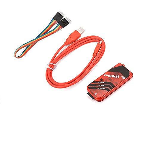 PICKIT3 PIC Kit3 Simulator PICKit 3 Programmer Emluator USB Kabel Dupond Draht