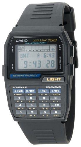 Casio Men's DBC150-1 Databank Digital Watch