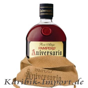 Pampero Aniversario OHNE LEDERBEUTEL 3 x 0,7 Liter
