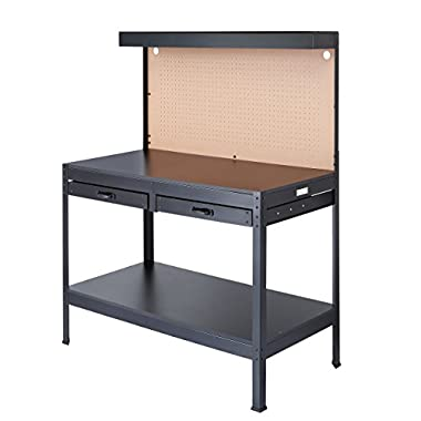 Olympia Tools 82-802 Multi-Purpose Workbench With Light