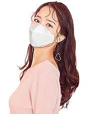 HappyLife Face Mask Made in Korea, White Large (10pcs)
