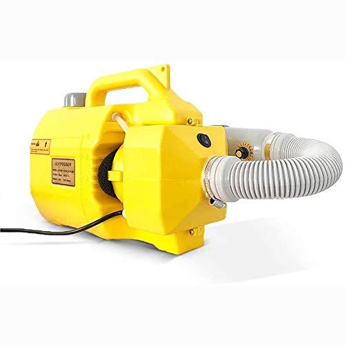 TYUIO Tragbarer elektrischer ULV Fogger 5L Intelligent Ultra Low Capacity Sprayer Geeignet for Pestizid-Sprühen, Farm Insecticide, Desinfektion von CDC, Krankenhaus, Station, Schule, Hotel