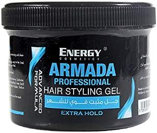 Energy Cosmetics Armada Hair Styling Gel Blue Extra, 500 ml