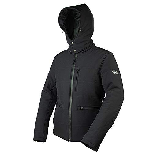 Windsoroyal - Chaqueta de invierno Dartmouth, para hombre, Negro - M
