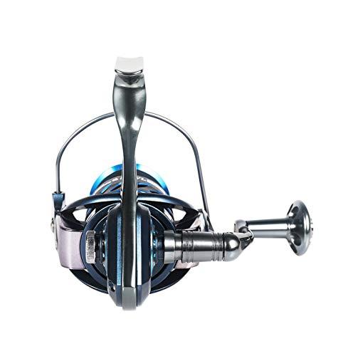 LLJP-Rollen Spinnrolle mit 7BB Edelstahl Lager, große Kapazität Spule, Salzwasser und Frischwasser kann verwendet Werden, Links/rechts Meeresrolle (Size : 1000)