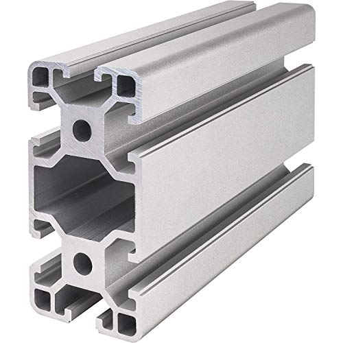 Systemprofil Aluminium Profil 4080 Nut 8 Montageprofil Stangenprofil Strebenprofil Nutprofil Bauprofil 40x80