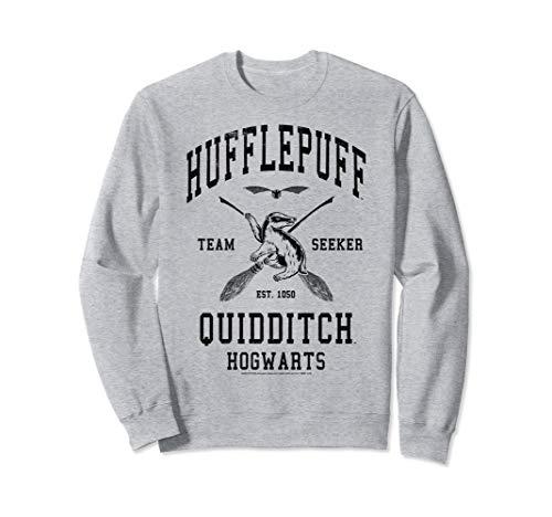 Harry Potter Hufflepuff Team Seeker Hogwarts Quidditch Sweatshirt