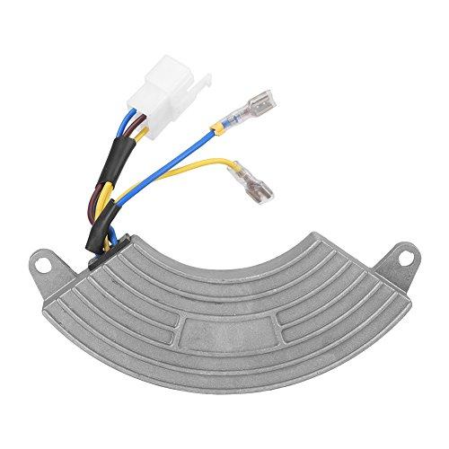AVR Regulador de Voltaje Automático Ajustable Universal en Forma de Arco para Generador Monofásico 5KW / 6,5KW