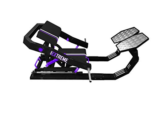 Burbell Hip Thrust Machine - Banco especial para ejercicios de glúteos femorales, cuádriceps, barbell