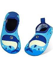 MASOCIO Badschoenen voor kinderen, antislip, sneldrogend, aquaschoenen, zwemschoenen, voor meisjes, jongens, strand, zwembad