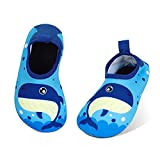 MASOCIO Escarpines Niño Antideslizante Calcetines Zapatos de Agua Verano para Playa Piscina Natacion Talla 26 27 EU Azul