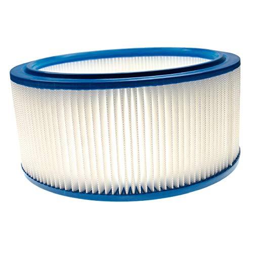 vhbw Elemento filtrante compatible con Hilti VCD 50 aspiradoras seco/mojado -Filtro