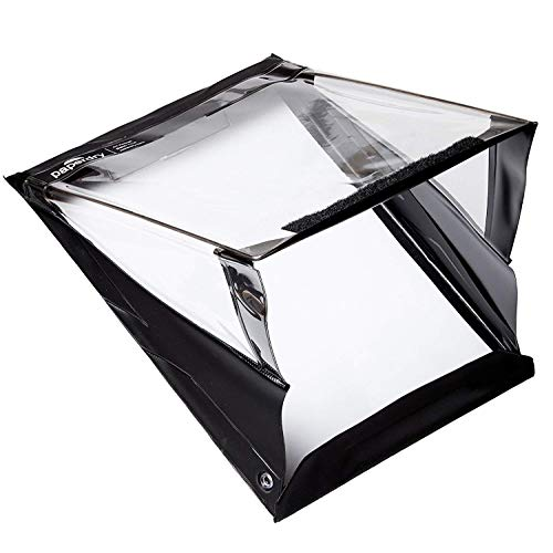 Paperdry 防水クリップボード A4 横 - 高品質ポリ塩化ビニル Letter Portrait
